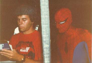 Rick Charles & Spiderman