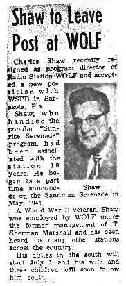 Syracuse Post Standard 6/14/59