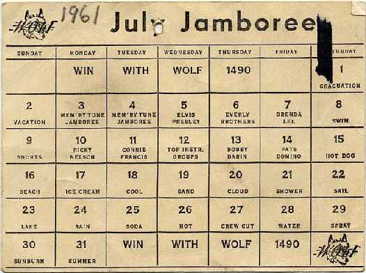 WOLF Word Game 1961